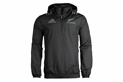 adidas New Zealand All Blacks 2017/18 Players All Weather Rugby Jacket
