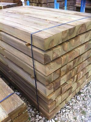 100x100 4x4 10ft 10' 3m wooden fence posts grade a treated tanalised panels
