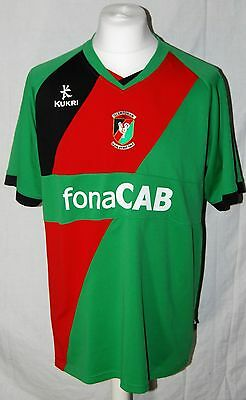 Glentoran Fc 2011/2012  Home Shirt Size Large