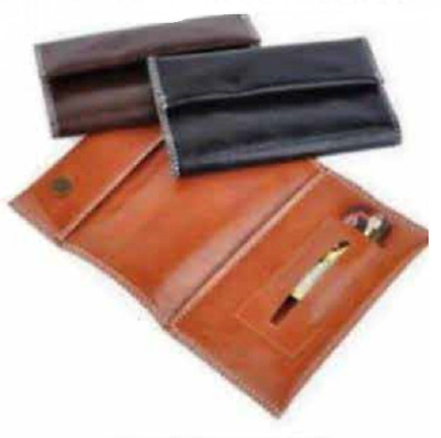 Brown Black Tobacco Pouch Fit 25g Cigarette Rolling Papers Mull Buds Roll Bonza