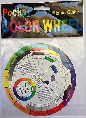 Pocket Colour Wheel Mixing Guide. New In Original Packaging