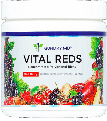 *gundry Md Vital Reds * Energy Boost * Concentrated Polyphenol Probiotic Blend*