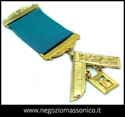 Masonic Craft Past Masters Breast Jewel