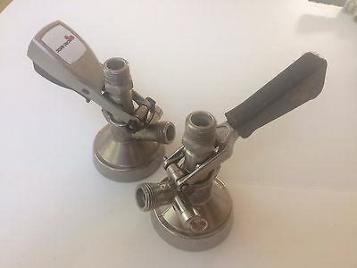Two G Style Keg Couplers from Micromatic SK184.04