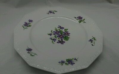 Stunning vintage Rosenthal Germany violetta plate 11 2/8 inches