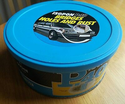 U-pol Isopon P40 Fibre Glass BodyFiller 600ml