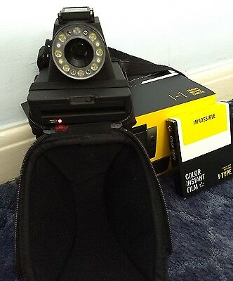 Impossible i-1 instant camera with case, box and film