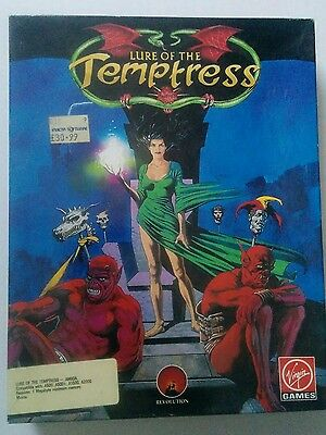 Lure Of The Temptress A Virgin Game for the Commodore Amiga tested & working