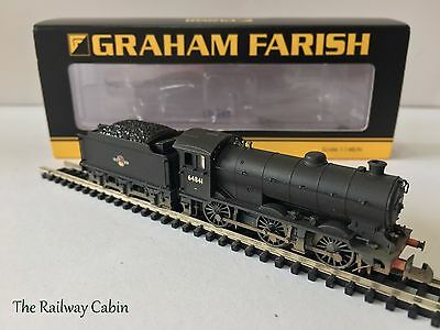 Graham Farish 372-403 N Gauge Class J39 64841 BR Black Late Crest (Weathered)