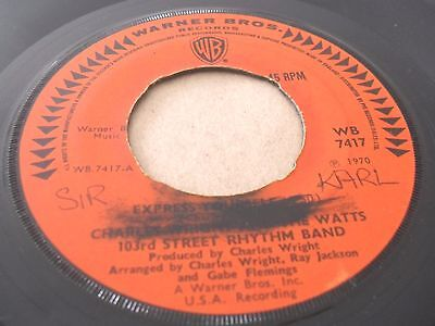 Charles Wright Band - Express Yourself CLASSIC Rare Funky Soul CBS listen mp3
