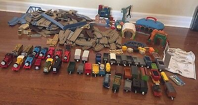 HUGE LOT Thomas Train Trackmaster Engines Track Tenders Directions PLUS MORE!