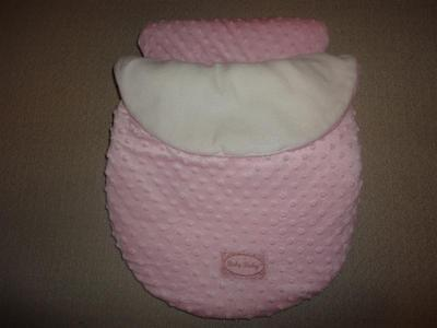 BABY BABY Car Seat Cover, Pink, Very Thick & Warm, Like New - Great Condition