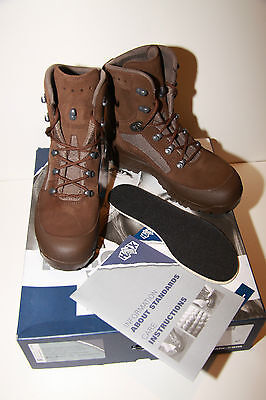 NEW British Army Haix Combat High Liability Boots Brown Women, Range of sizes