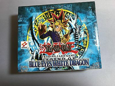 Yugioh Legend of Blue-Eyes White Dragon LOB Unlimited Booster Box Sealed USA
