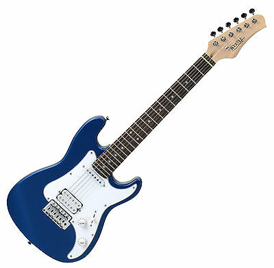 00027665 - Guitarra Electrica Tamaño 3/4 Infantil Color Azul