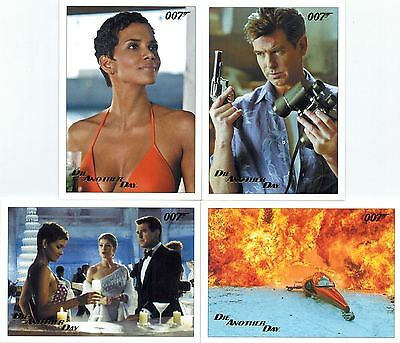 James BOND 007 Die Another Day Lot 24 Gold Parallel Cards /250 (see description)