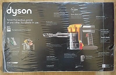 Dyson DC34 Multi Floor Handheld Vacuum with Longer Run Time Brand New