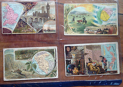 Arbuckle Bros. Coffee Company Trading Cards - Nations of the World 8 cards