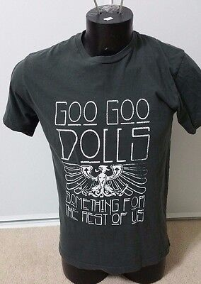 """Goo Goo Dolls 2010 - """"Something for the Rest of Us"""" Tour T-Shirt - Size Large"""