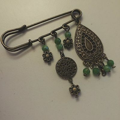 Persian handmade brooches - antique jewellery