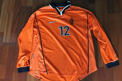 Maglia Shirt Trikot Maillot Netherland Holland Worn Issued 1998 Long sleeves