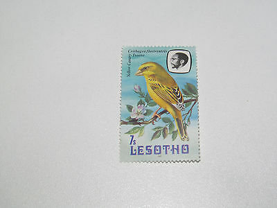 Timbre Poste Neuf Stamp TTB Lesotho Yellow Canary 1992