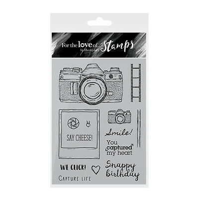 SAY CHEESE! - For The Love of Stamps Clear Stamp Set - Hunkydory