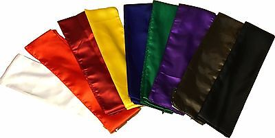 KUNG FU SASHES, 300cm length - 100% Polyester smooth fabric, martial arts