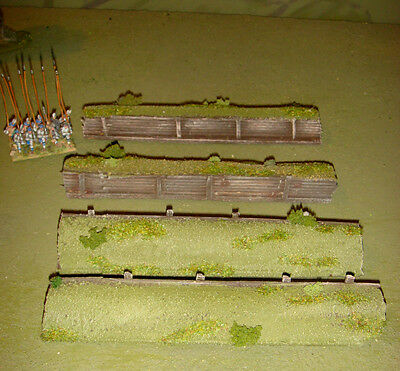 WARGAMES 15mm 28mm  RIVER FORD 50mm wide Flames Of War WW2 warhammer by FATFRANK