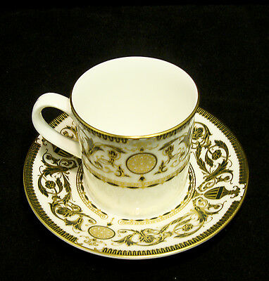 Royal Worcester Bone China 'Windsor' Demitasse Coffee Cup and Saucer