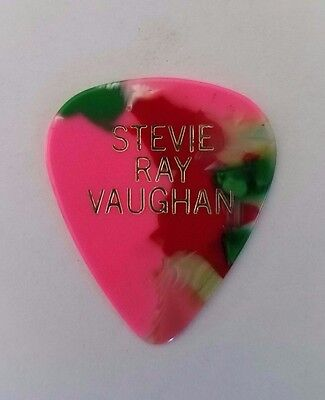 RaRe (( STEVIE RAY VAUGHAN)) 6/20/1984 Paramount Theatre STAGE USED GUITAR PICK