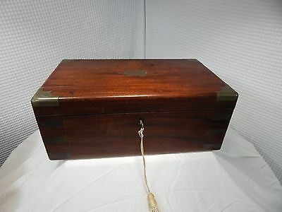 1821c. Springweller & Thomson Brass/Rosewood Portable Desk London England