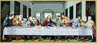 Royal Paris Tapestry/Needlepoint Canvas - The Last Supper by Léonard de Vinci