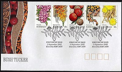 Australia  2002 Bush Tucker Fdc