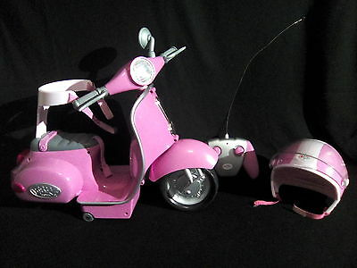 Zapf Creations Baby Born Ride On Remote Control Scooter, Motorcycle