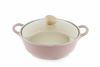Neoflam Retro 3.5-qt. Stock Pot with Glass Lid