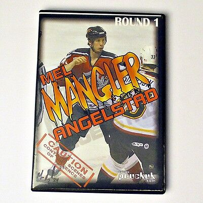 Mel 'Mangler' Angelstad - NHL Belfast Giants Ice Hockey - Autographed DVD