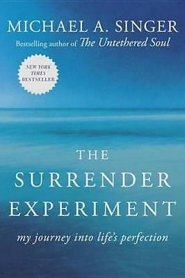 NEW The Surrender Experiment By Michael A. Singer Paperback Free Shipping