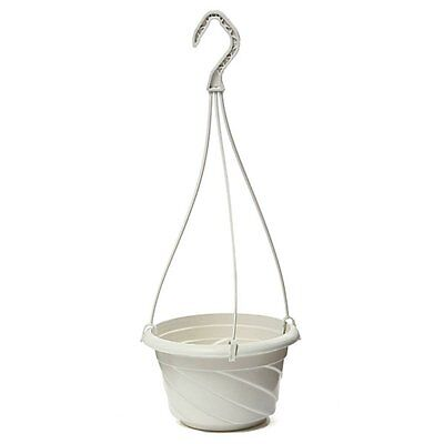 Hanging Flower Plant Pot Home Garden Decoration White