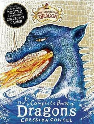 NEW Incomplete Book of Dragons By Cressida Cowell Paperback Free Shipping