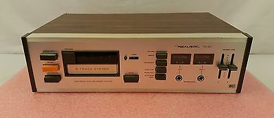 Realistic TR-801 8 Track Tape Deck Tested Working CLEAN!