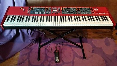 Nord Stage 2 EX 88 hammer action keyboard 88-note flagship | home use only MINT