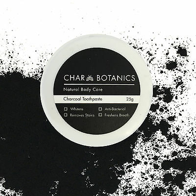 Charcoal Whitening Toothpaste - FLUORIDE FREE - Lasts for up to 4 months