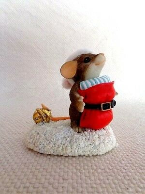 """Fitz & Floyd Charming Tails """"Santa Imposter"""" Item : 98/236 - Special Edition"""