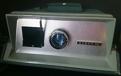 Vintage Super Han-o-matic argus 500 Slide Projector Working Order