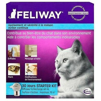 FELIWAY Diffuseur + recharge anti-stress 48 ml - Pour chat