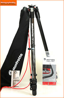 Manfrotto 290 Xtra MT290XTC3 Carbon Fibre Tripod 290 Series  Free UK Post