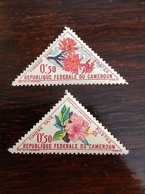 Assorted Stamps from Cameroon Republique Federale du Cameroun