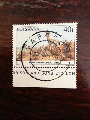 Stamp from Botswana