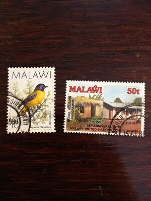 Assorted Stamps from Malawi